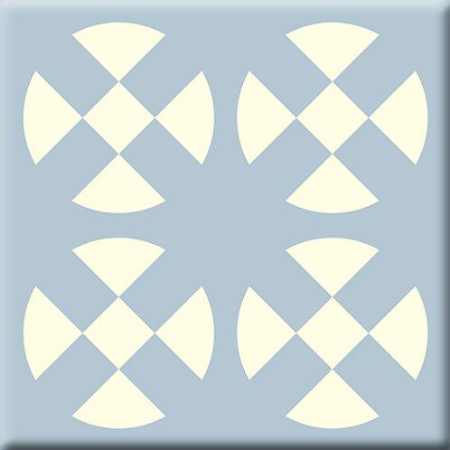 Hot Plates - Gray / Blue (Single Tile)
