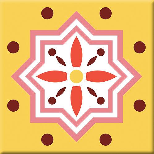 Tuilerie - Yellow (Single Tile)