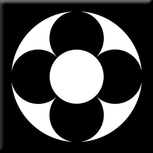 Rotor - Black / White (Single Tile)