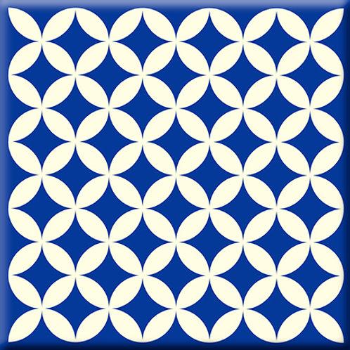 Needle Point - Blue (Single Tile)
