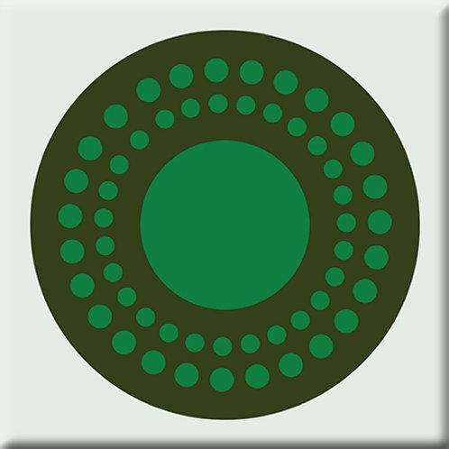 Sunshine - Dark Green / Green (Single Tile)