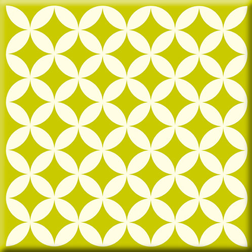 Needle Point - Avocado (Single Tile)