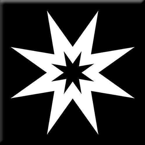 Dynamo - Black / White (Single Tile)