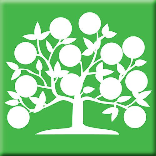 Tree of Life - Green (Single Tile)