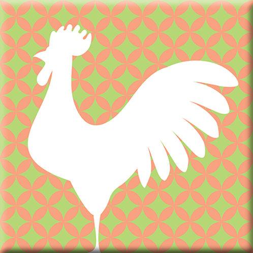 Doodle - Pink / Green (Single Tile)