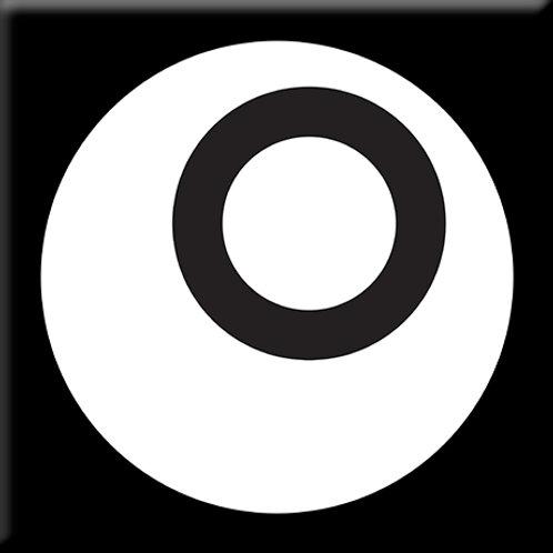 Iota - Black / White (Single Tile)