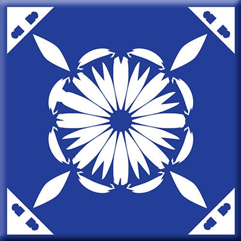 Gram's Kitchen - Blue (Single Tile)