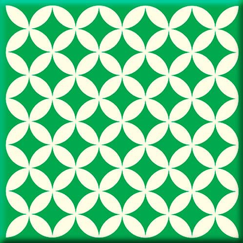 Needle Point - Green (Single Tile)