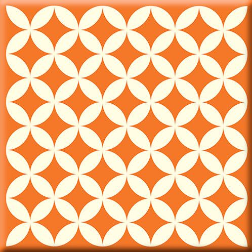 Needle Point - Orange (Single Tile)