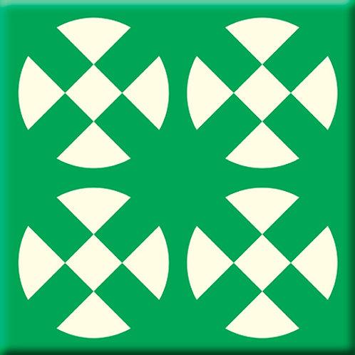 Hot Plates - Green (Single Tile)