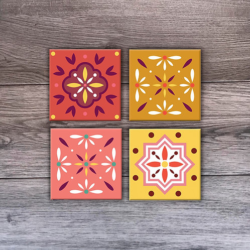 Roots Coasters 4 Set