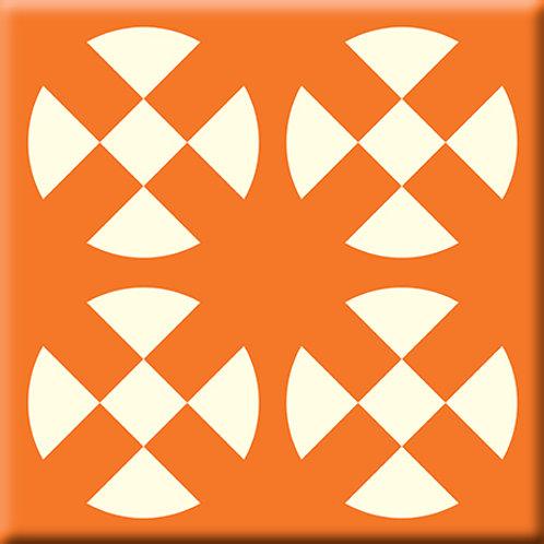 Hot Plates - Orange (Single Tile)