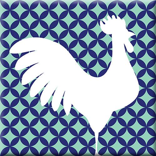 Doodle - Blue / Light Blue (Single Tile)