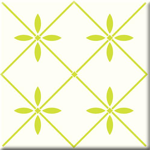 Glass - Yellow / Green (Single Tile)