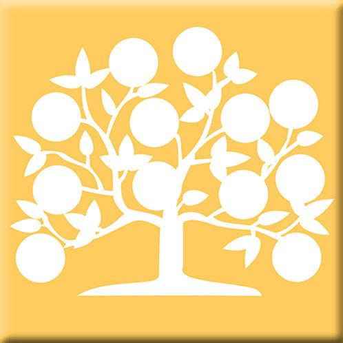 Tree of Life - Yellow (Single Tile)