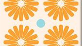 Pinwheels Orange