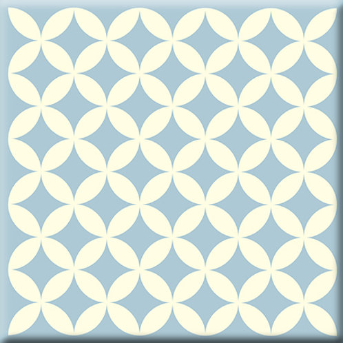 Needle Point - Gray / Blue (Single Tile)