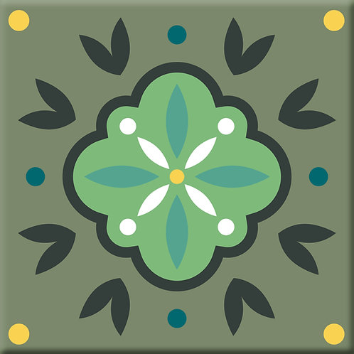 Opal - Green (Single Tile)