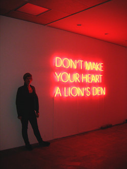 Don't let your heart...