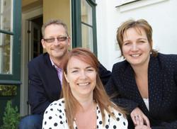 LasseAhm, Helle Lehman og Hele Bertram f