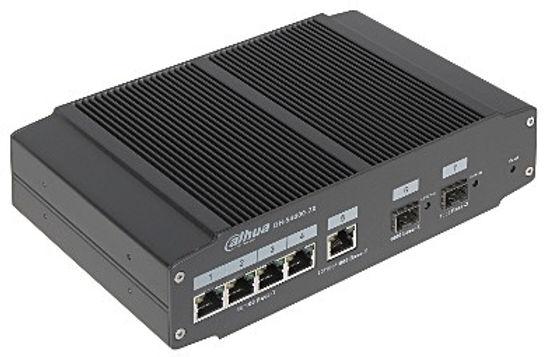 DH-S4000-7X priemyselný switch