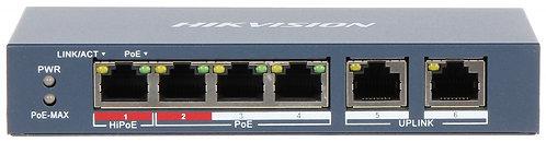 PoE switch 4ch.
