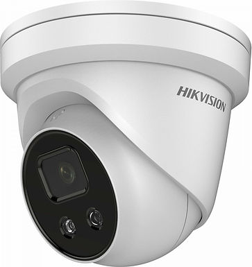 4MPx AcuSense IP kamera dome bezpečnostná
