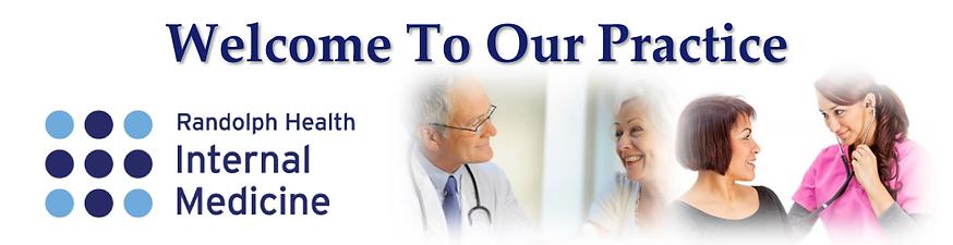 Welcome to Randolph Health Internal Medicine in Asheboro