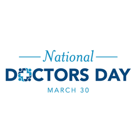 March 30 is National Doctors' Day!