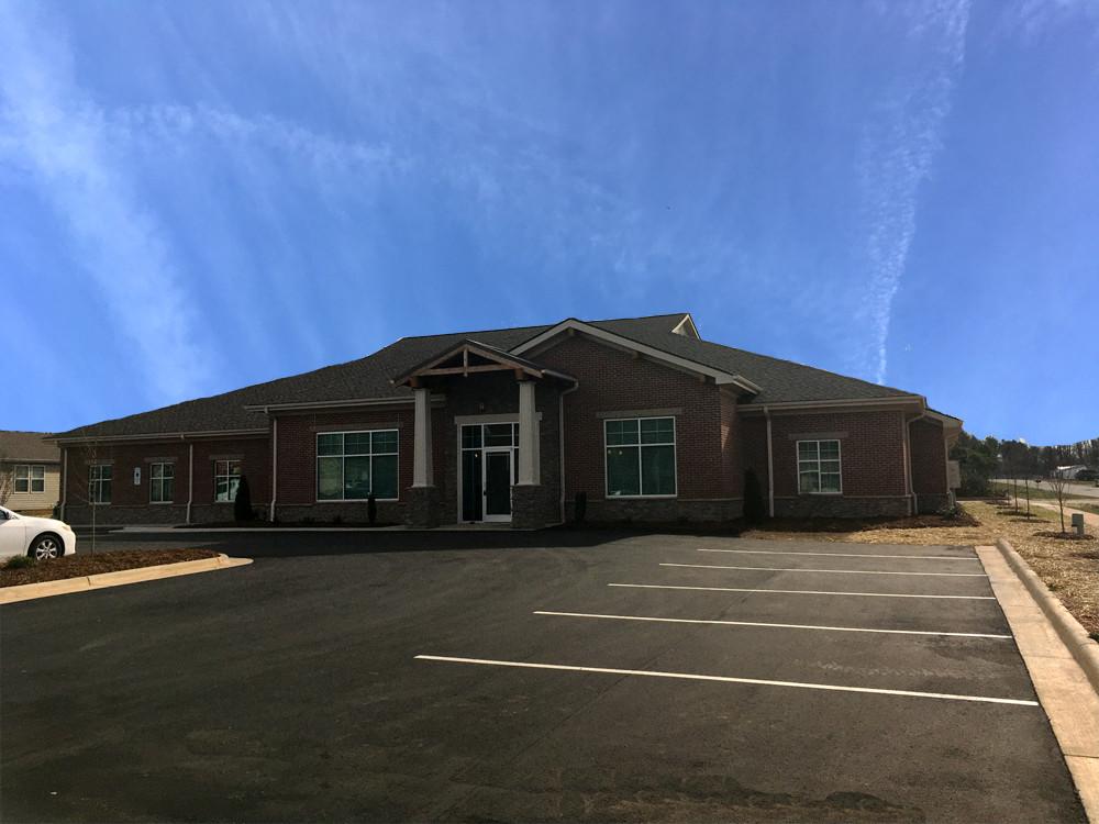 Exterior of Facility