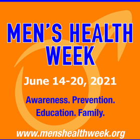 Men's Health Week: June 14 - 20