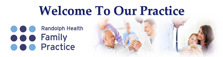 Welcome to Randolph Health Family Practice in Liberty