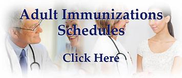 Adult Immunizations Schedules