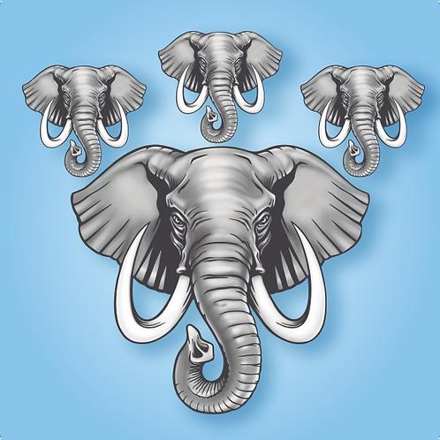 Kit Elefante c/ 04
