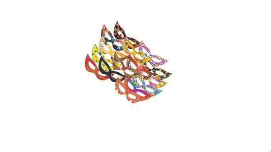 Máscara Gatinha c/ 10