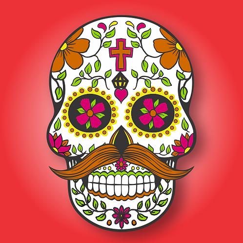 Caveira Mexicana Masculino c/01