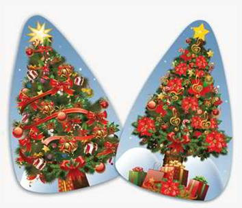 Kit Árvores de Natal c/ 02