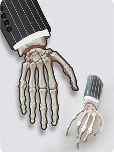 Enfeite Mão Halloween p/Mesa c/ 06