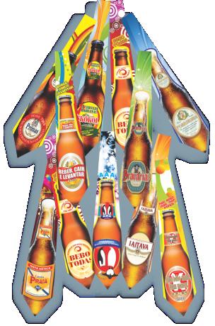 Gravata Cerveja c/ 10