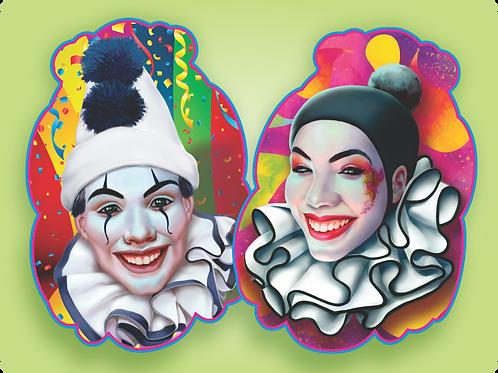 Kit Pierrot e Colombina c/ 02