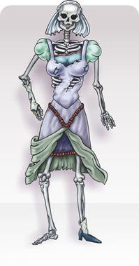 Painel Esqueleton Noiva c/ 01 Articulado