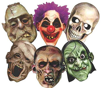 Máscara Monstro c/ 06