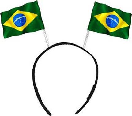 Tiara Bandeira c/ 10
