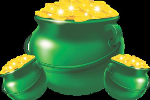 Kit Pote de Ouro c/ 03