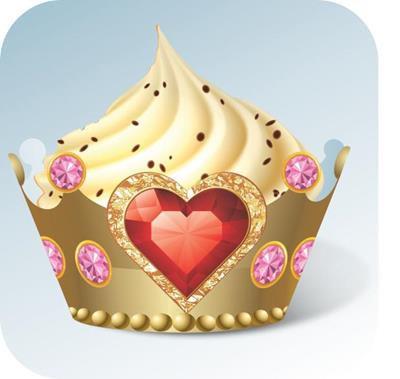 Cupcake Coroa c/ 12 Gde
