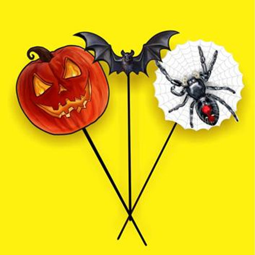 Palito Halloween c/ 10