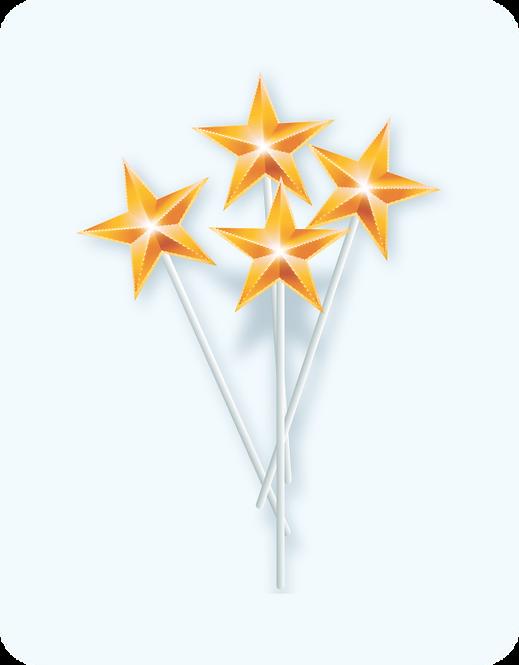 Palito Estrela c/10