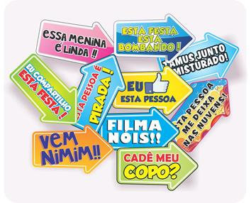 Placa Sortida c/ 10 Frase 1