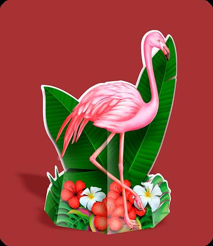 Totem Flamingo c/ 01