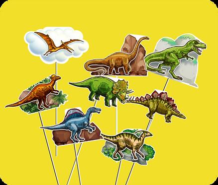 Palito Dinossauro c/ 08